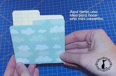 Carpeta con separadores - Tutorial paso a paso Cinderella 22