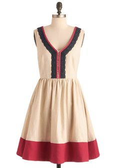 Modcloth dress - Modcloth is one of my favorite clothing sites because its focus is vintage inspired clothing. Very cute dress!