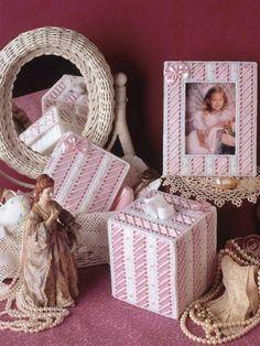FREE PATTERN  Ribbon Dresser Set