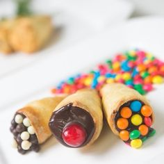 Comidinha em cone é opção para festa infantil; aprenda receitas