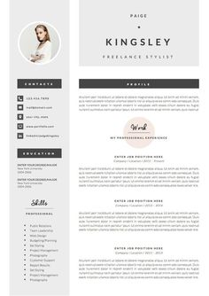 Professional Resume Template & Cover Letter Icon Set for image 3 Cover Letter Template, Cv Template, Letter Templates, Resume Templates, Cover Letters, Microsoft Word, Cv Design, Resume Design, Graphic Design