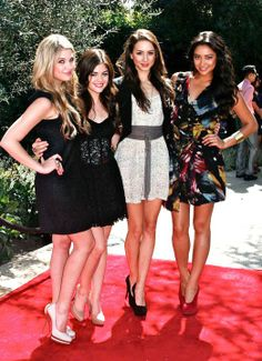 Ashley Benson, Lucy Hale, Troian Bellisario, and Shay Mitchell...