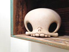 GID Scavenger Skull by Kathie Olivas