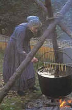 candle making- What Jim imagines me doing