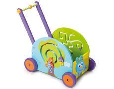 Push and pull rabbit wagon