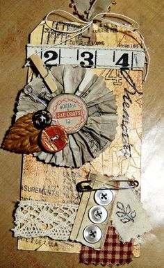 Nancy Burke Fall Tag #5 of 12 tutorial
