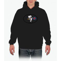 Chicago Cubs And Snoopy Chicago cubs Hoodie
