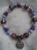 Pagan Poetry Collection bracelet @ Etsy, Unique Visions by Jen.