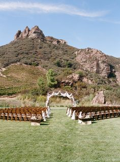 Saddlerock Ranch wedding | photo by Erin Hearts Court | 100 Layer Cake
