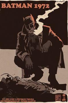 Grindhouse Comic Hero Depictions - These Pulp Fiction Batman Illustrations are a Dark Take on Batman (GALLERY) Batman Et Catwoman, Im Batman, Riddler, Batman Robin, Superman, Gotham Batman, Batman Painting, Batman Artwork, Comic Books Art