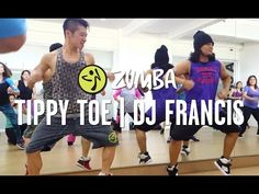 Tippy Toe | Zumba Fitness with ZES George and ZES Prince | Live Love Party - YouTube