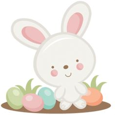 Easter Bunny SVG scrapbook cut file cute clipart files for silhouette cricut pazzles free svgs free svg cuts cute cut filess
