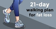 21-day walking plan that will help lose weight