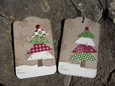 Image result for Christmas Tree Gift Tags