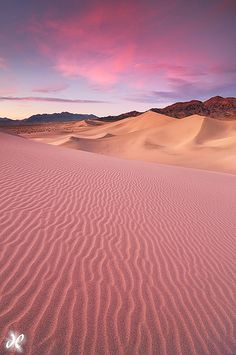 Desert Dream - Ibex Sand Dunes, Death Valley National Park, California. USA