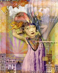 Life is but a Dream - Trudi Sissonsusing some images from Tumble Fish Studio and Mr. Whiskers