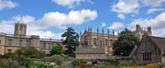 Christ Church, in Oxford.- this is a neat place to visit