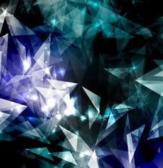 Free Modern Abstract Triangles Background Vector 05 » TitanUI