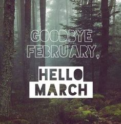 Hello March � little goals