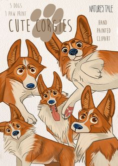 Hey, I found this really awesome Etsy listing at https://www.etsy.com/uk/listing/489755230/dog-clipart-corgies-clipart-pets-clipart