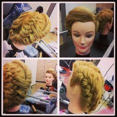 Updo Inspiration by journeythrubeautyschool_chi