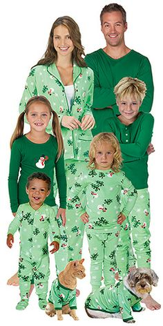 I want matching pajamas for all of us Christmas morning