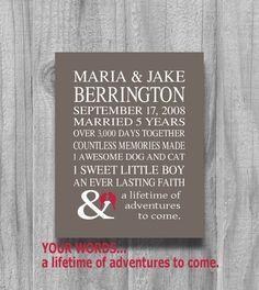 another idea wedding anniversary presentspersonalized anniversary giftspersonalized
