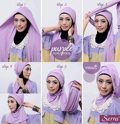 Tutorial Hijab Modern 33
