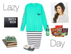 """Untitled #40"" by ivycraun1 ❤ liked on Polyvore featuring Ichi, Victoria's Secret, Journee Collection, Hershey's and Design Letters"