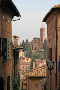 When we were in Sienna, Italy in 2010, this view from a side street took my breath away!! By Marla Bark Dembitz