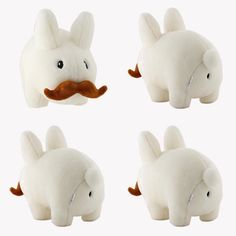 """The Daily Deal today saves you 10% off Kidrobot's 14"""" Happy Labbit Plush! Not only is this a large plush it's also super soft and squishy!  #dailydeal #happylabbit #labbitplush #labbit #kidrobot #frankkozik #plush  #arttoys #arttoy #vinyltoy #vinyltoys #designertoys #desgnertoy #designer #designers #art #vinyl #toy #toys #collectibles #collectible #markham #mindzai #toronto"""