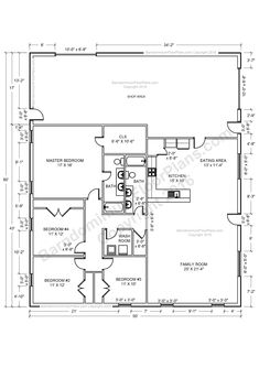 What is a Barndominium? Contents hide What is a Barndominium? Why Do You Choose Barndominium? Read moreBest Barndominium Floor Plans For Planning Your Barndominium House Metal House Plans, Pole Barn House Plans, Shop House Plans, Barn Plans, New House Plans, Pole House, Pole Barn Home Kits, Garage House, Garage Plans