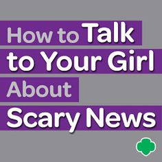 """Violence and hatred continue to affect our world. And in one with a 24/7 news cycle, it's hard for anyone—even children—to avoid hearing about frightening things when they do occur. Use these helpful tips to talk about """"scary"""" news with your loved ones. #parenting #raisinggirls"""