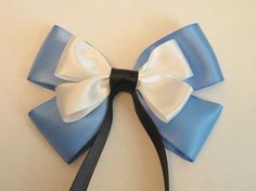 Alice in Wonderland Hair Bow Disney Inspired