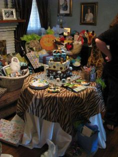 Jungle Theme Baby Shower Party Ideas | Photo 2 of 12