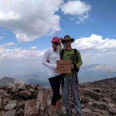 Today's adventure on Quandary with my little sister. Her first 14er! I'm a proud big brother.