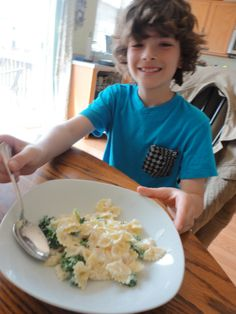 Kid-Approved Pasta with Ricotta and Kale