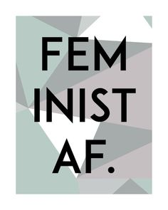For Our Visibility- Feminist, Protest, Pride, Lifestyle by articulatedartprints