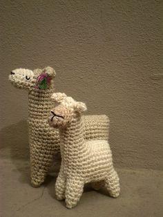 2 llamas by pica - pau, via Flickr