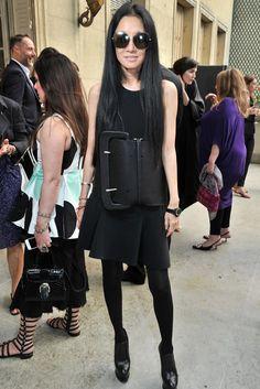 Vera Wang at The 'Little Black Dress' in Paris