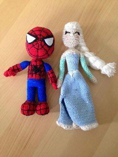 ͽ Bellissima ͼ: darf ich vorstellen: Elsa und Spiderman Elsa, Spiderman, Spider Man, Amazing Spiderman