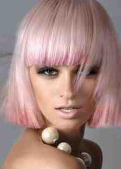 Ombre pink hue dip dye wella