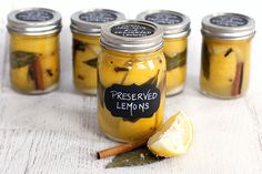 Homemade Preserved Lemons |  It's gorgeous, tasty, useful, and just different enough to seal your fate as the most fabulous foodie that your friends have. @jekins