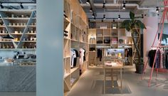 A Curious Teepee lifestyle store & café by Takenouchi Webb, Singapore store design
