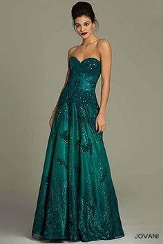 Jovani lace ball gown Dress 3677
