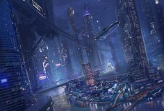 """""""unflujodefotones:  City Of the Night by ~MeckanicalMind   """""""