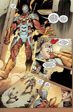 Suicide Squad Deadshot Floyd Lawton conducts an interrogation Squad style Comic Book Heroes, Comic Books Art, Comic Art, Dc Comics Art, Marvel Dc Comics, Floyd Lawton, Captain Boomerang, Univers Dc, Deadshot