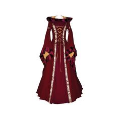 Formal medieval dress (red)  I DON'T LIKE THAT COLLAR!!  otherwise, its goregous.