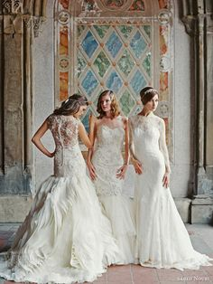 sareh nouri fall 2014 bridal wedding dresses