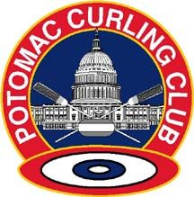 potomac curling club logo.